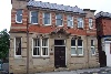 Here is the 'Kingdom Hall' of the Jehovah's Witnesses in Belper. It is located in Strutt Street, and was the former Post Office.